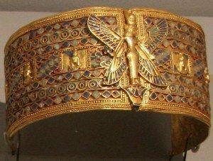 Bracelete de Amanishakheto, arqueologia do Sudão.