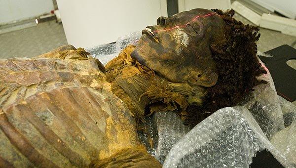 Múmia de Maiherperi, arqueologia do Egito Antigo.