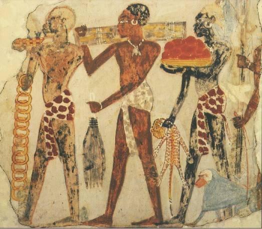 Núbios, arqueologia do Egito Antigo.