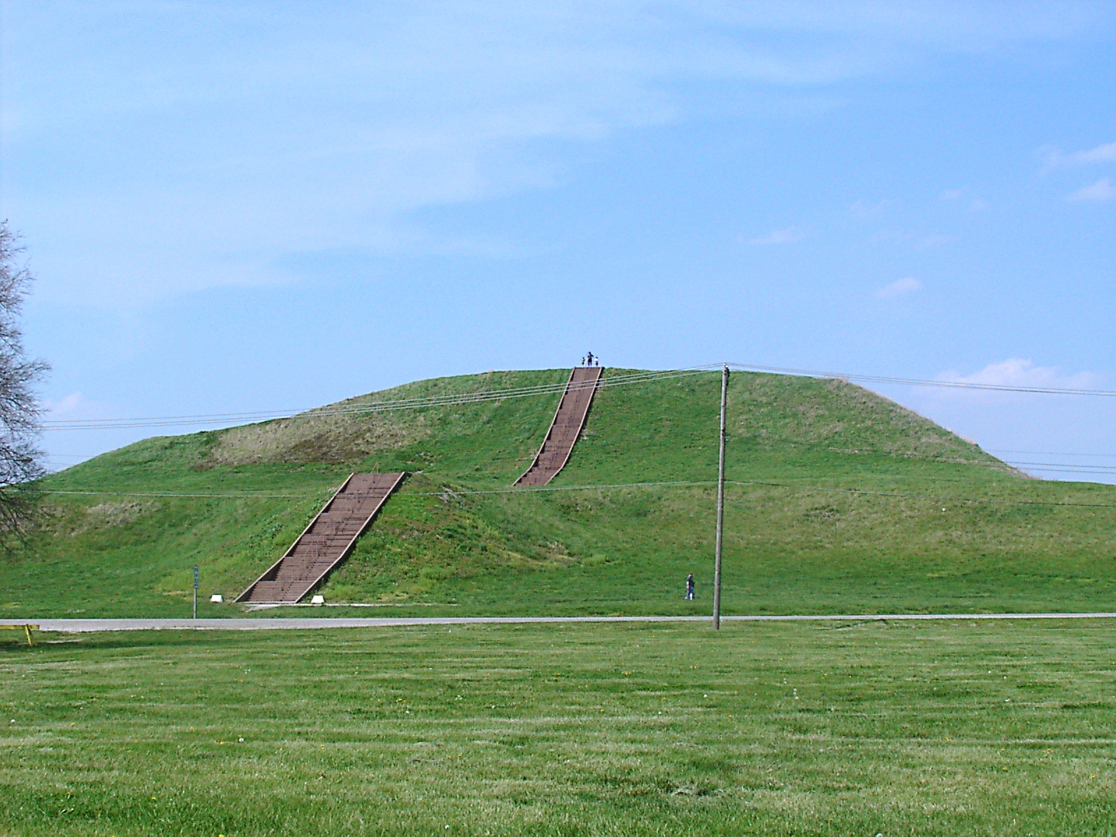 Pirâmide de Monks Mound, Estados Unidos