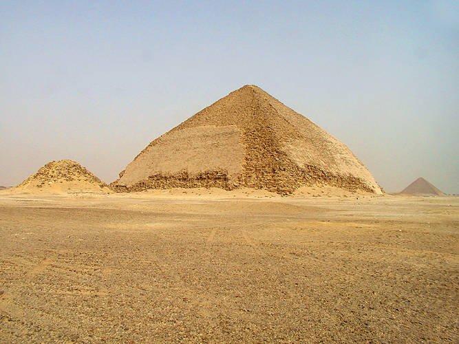 Pirâmide Curvada, Dahshur, Egito, 2600 a.C.