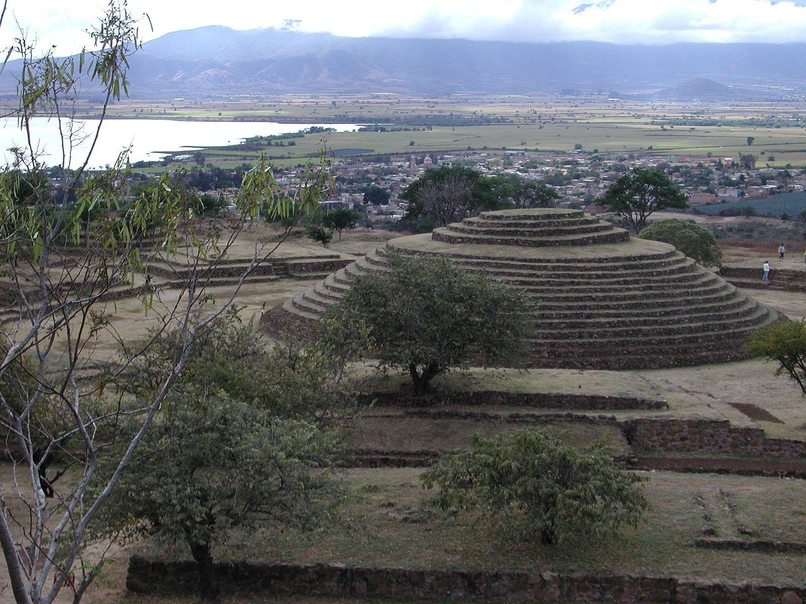 Pirâmide de Guachimontones, México