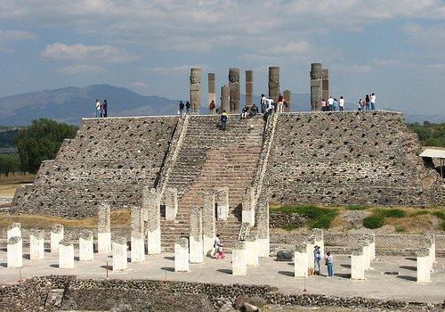 Pirâmide B, Tula, México
