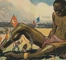 A áfrica foi repartida entre as potências europeisa.