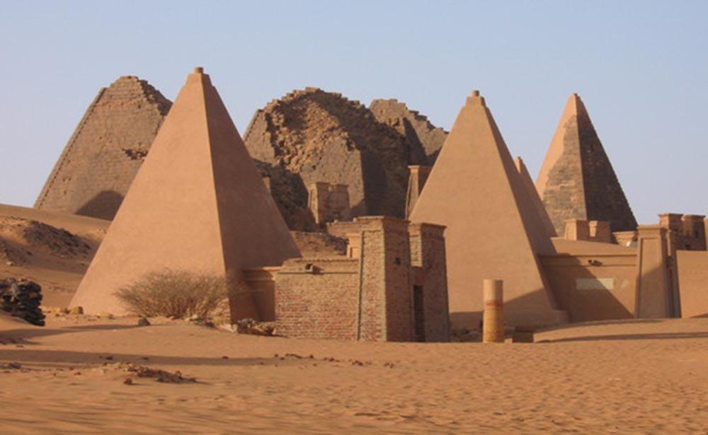Piramide de Méroe.