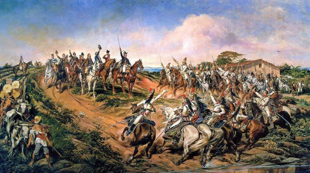 """""""O grito do Ipiranga"""", Pedro Américo"""