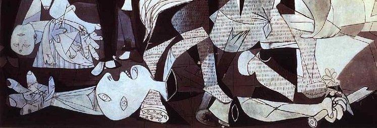 Guernica, detalhe