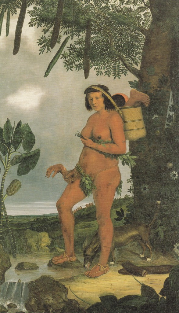 """Mulher Tapuia"", Albert Eckhout, 1641."
