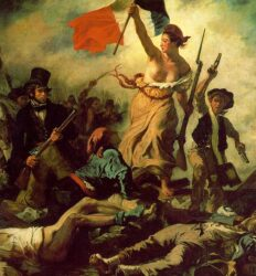 """Liberdade guiando o povo"","