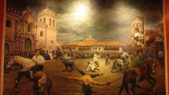 Túpac Amaru, líder da revolta indígena do Peru