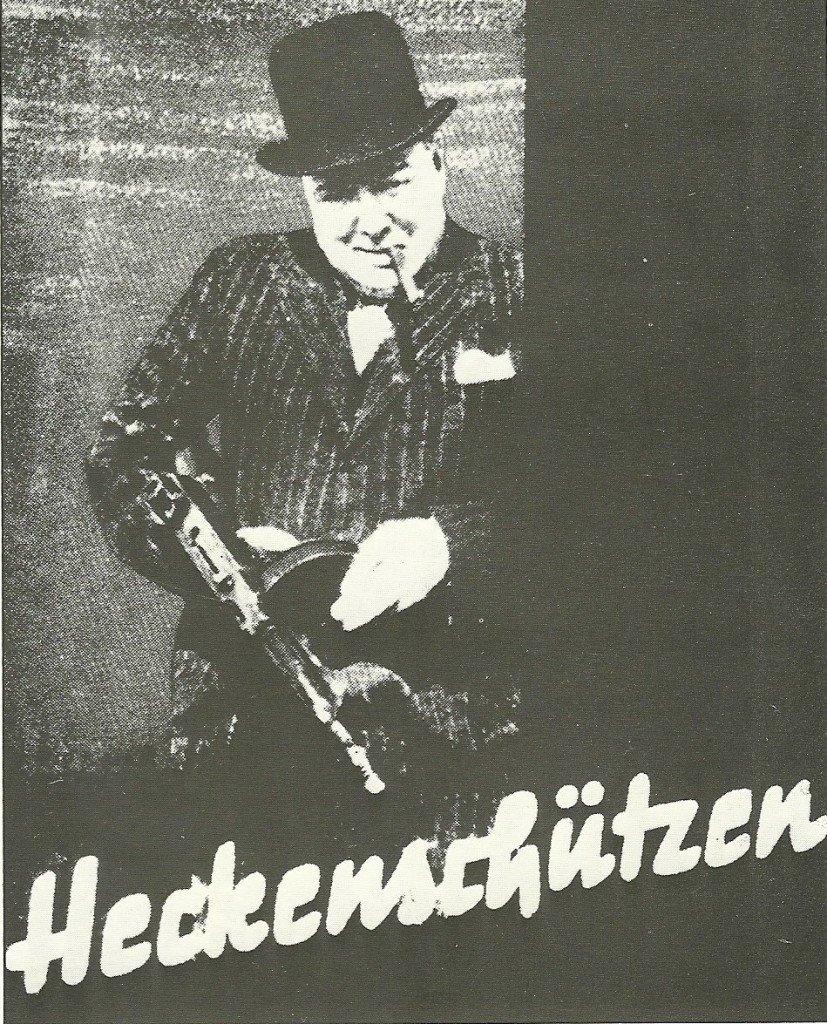 """""""Franco-atirador"""", cartaz alemão de 1941"""