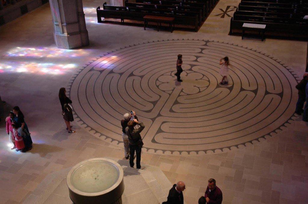 Labirinto catedral de Chartres, séc. XIII