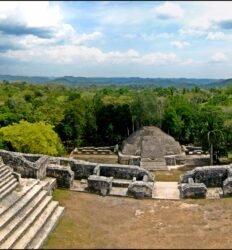 Caracol, cidade maia em Belize
