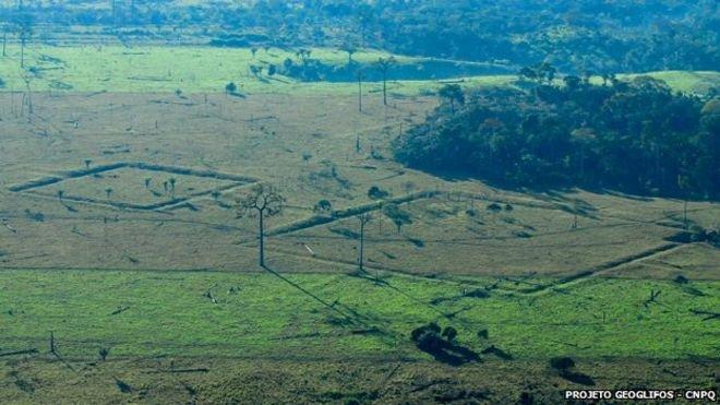 Amazonia geoglifos