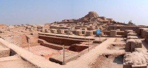 """Mohenjo-Daro, """"cidade dos mortos"""", no Paquistão."""