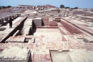Grande banho de Mohenjo-Daro.