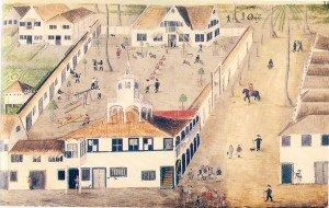 Cidade Maurícia em Pernambuco, Zacharias Wagener, c. 1640, Holanda.
