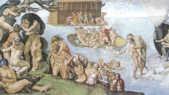O dilúvio, Michelangelo.