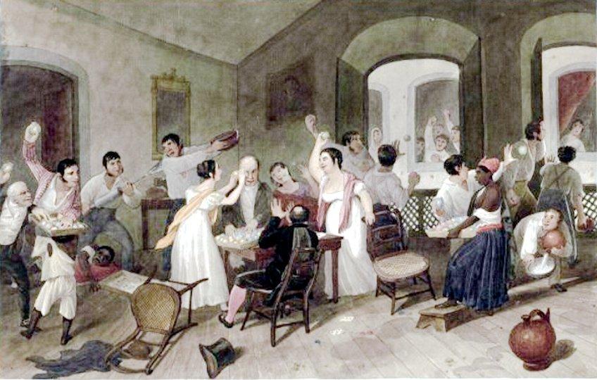 entrudo-augustus-earle-1822