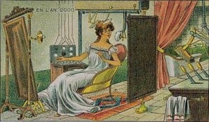 """""""Madame à sa toillete"""", Villemard, 1910."""