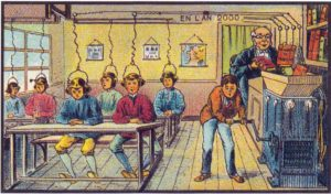 Escola, Villemard, 1910.