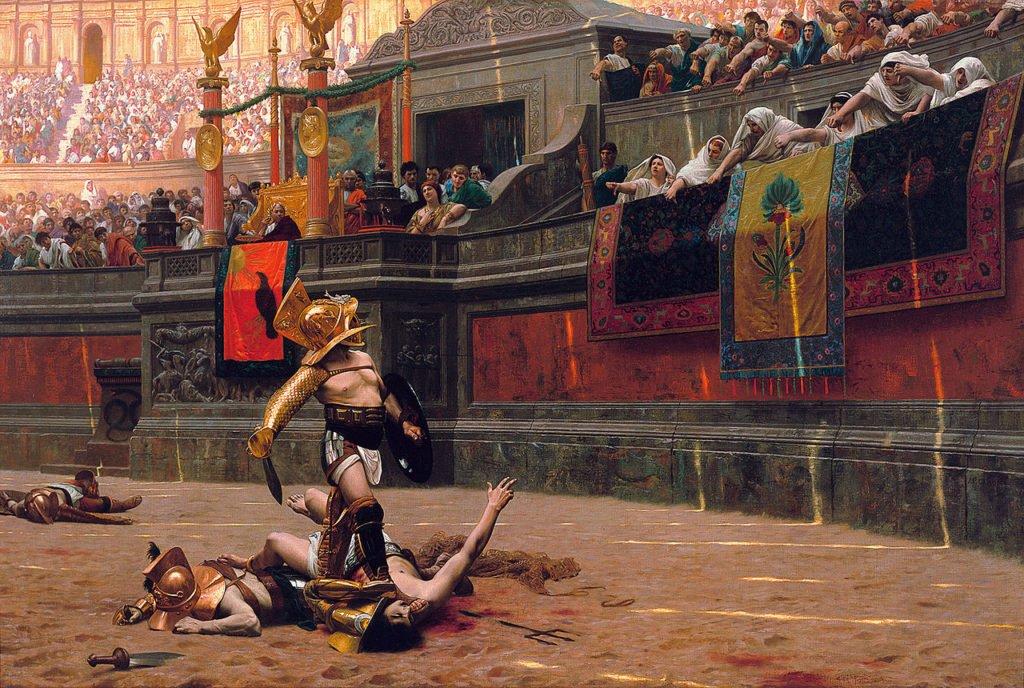 Gladiadores, ean-Leon Gerome