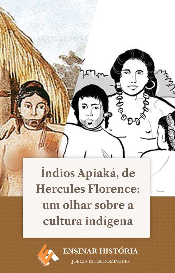Índios Apiaká, de Hercules Florence: um olhar sobre a cultura indígena