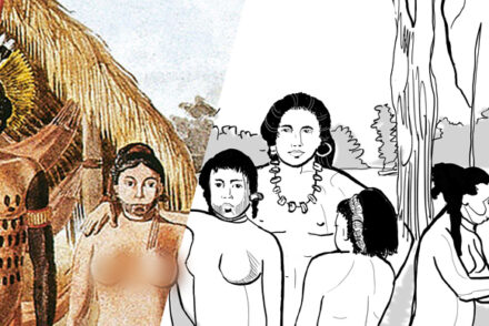 Indios Apiaká, de Hercules Florence
