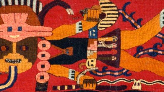 Textil: Manta Paracas
