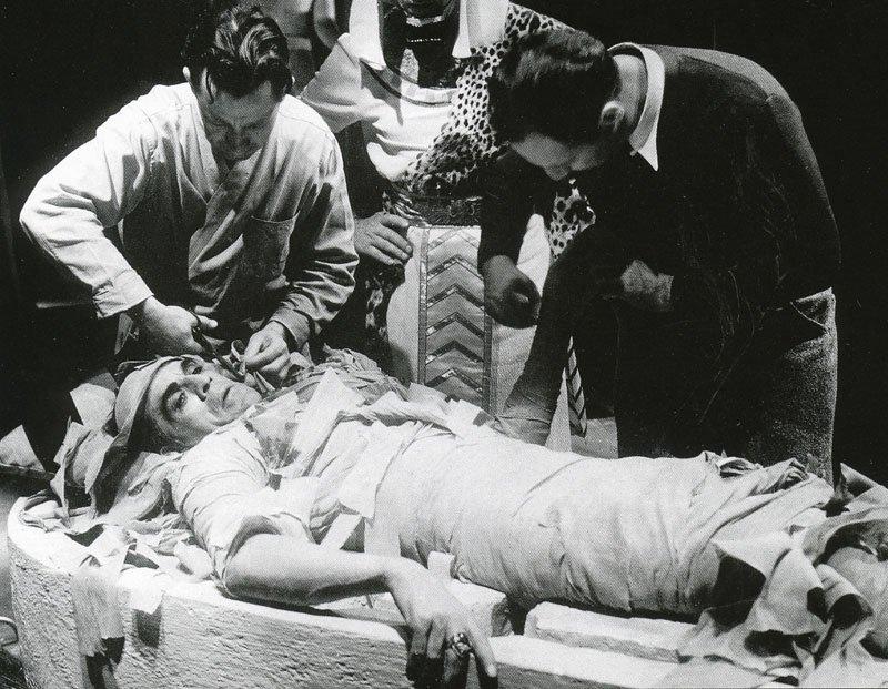 """""""The Mummy"""", filme de 1932."""