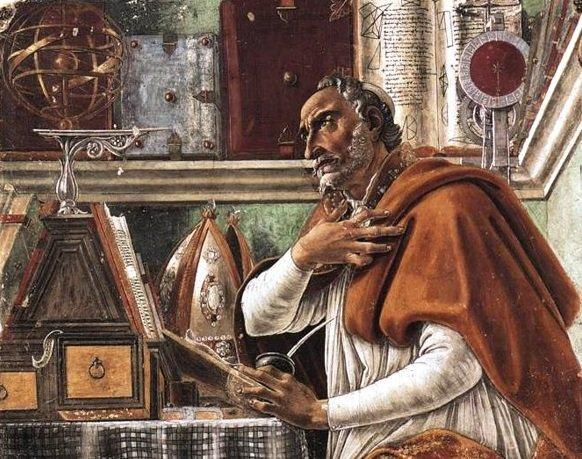 Santo Agostinho, Botticelli