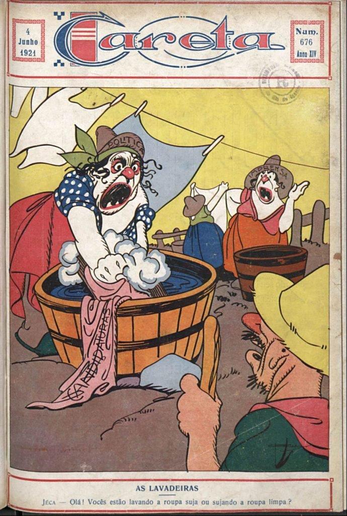 As lavadeiras, Careta, 1921