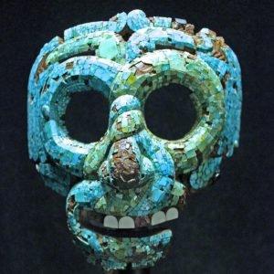 Máscara de Quetzalcoatl, asteca