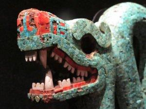 Serpente de duas cabeças, detalhe
