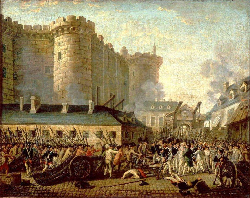Tomada da Bastilha, 14 de Julho de 1789