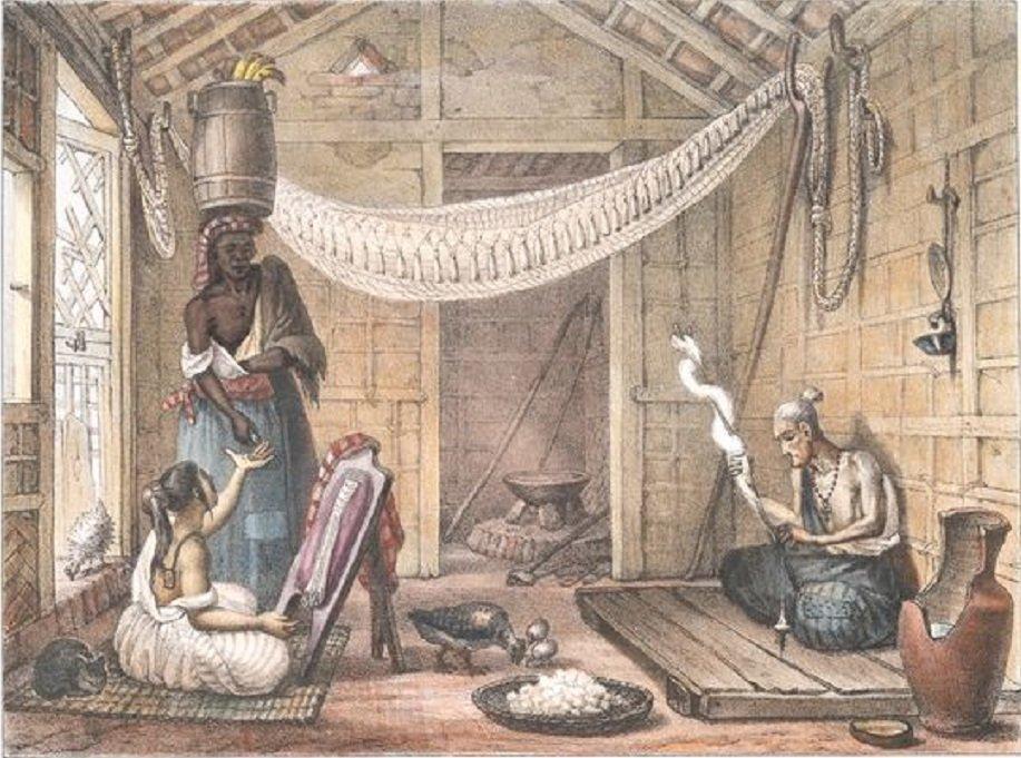 Família pobre, Debret, 1827