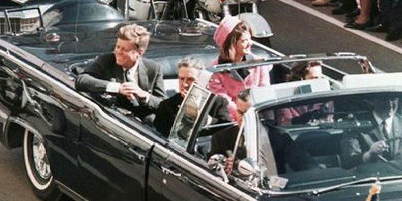 John Kennedy em Dallas, 1963