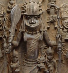 Arte africana de Benin.