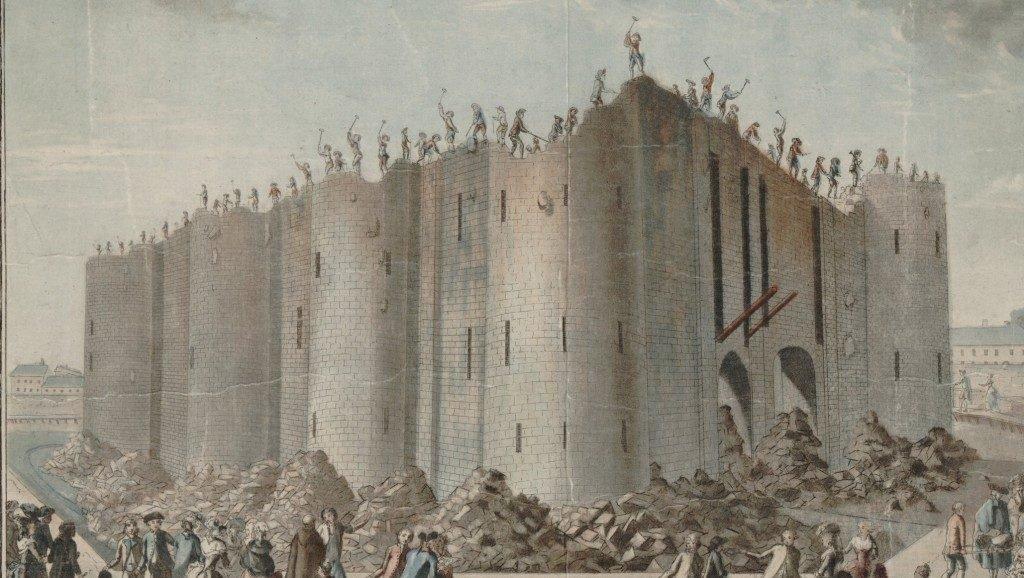 A demolição da Bastilha