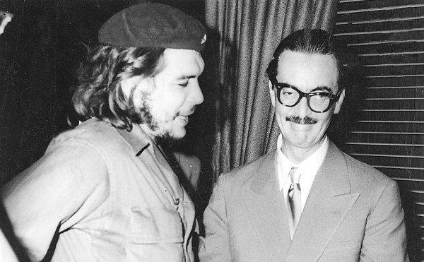 Jânio Quadro e Che Guevara
