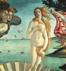Nascimento de Venus, obra de Sandro Botticelli