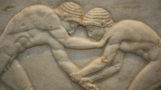 Luta livre, Olimpíadas na Grécia Antiga