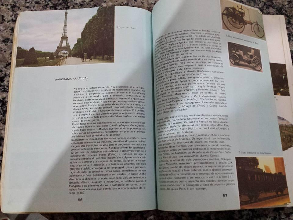Página do livro de Sérgio Buarque de Holanda