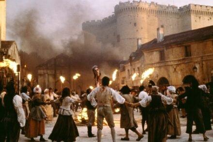 Revolução Francesa, cena filme