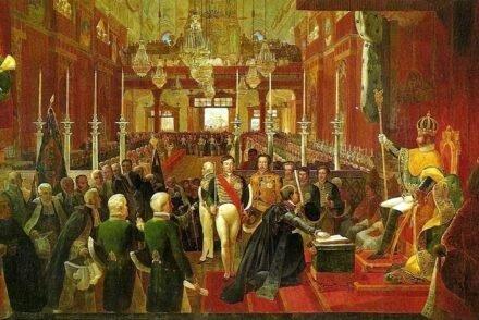 Coroação de Dom Pedro I, Debret