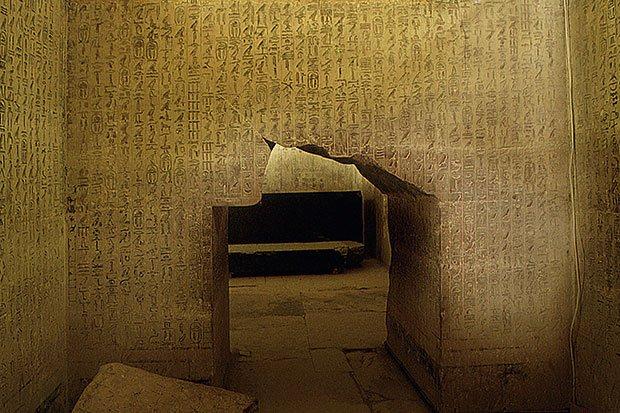 Texto das Pirâmides, Sacara
