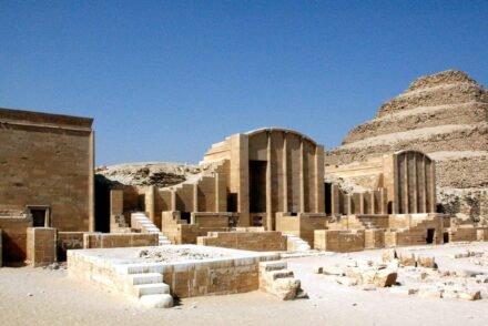 Pirâmide de Degraus, de Djoser