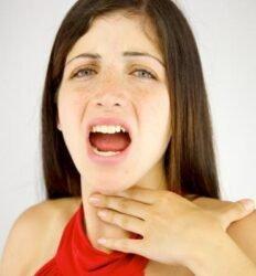 Rouquidão e tosse