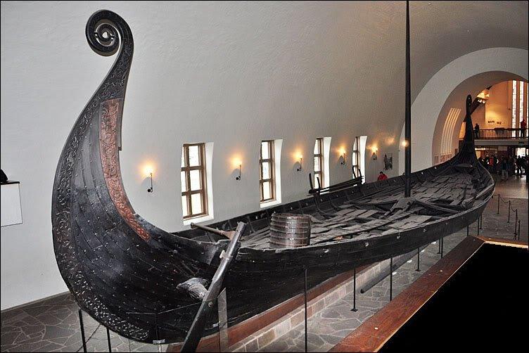 Navio viking Navio de Oseberg