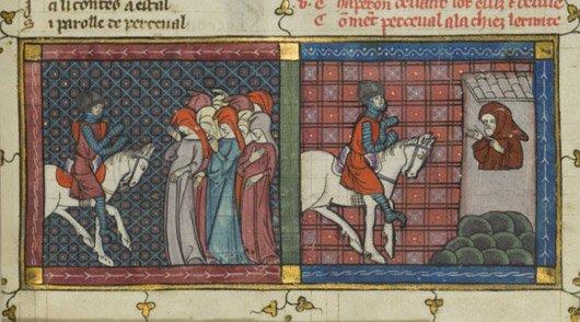 Percival, Cavaleiro da Távola Redonda.